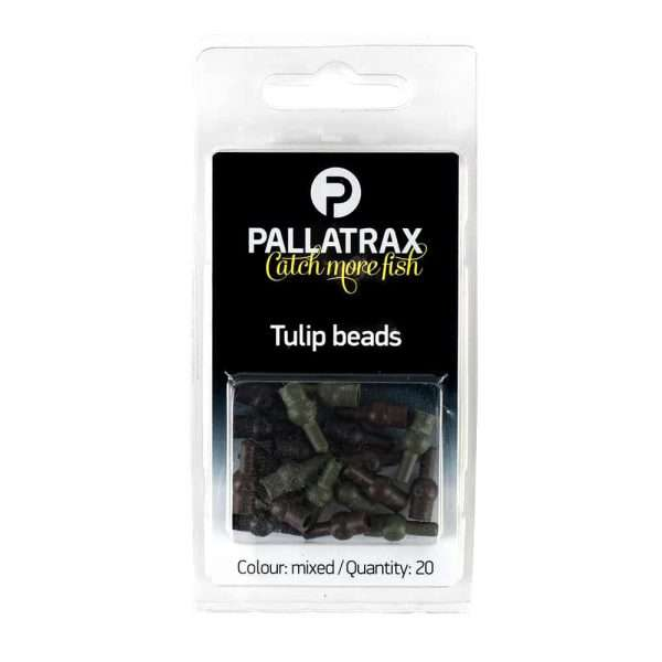 Green or Mixed. 20 beads Per Pack Black Brown Fishing Tulip Beads
