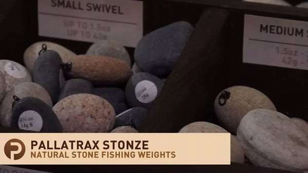 stone fishing weight