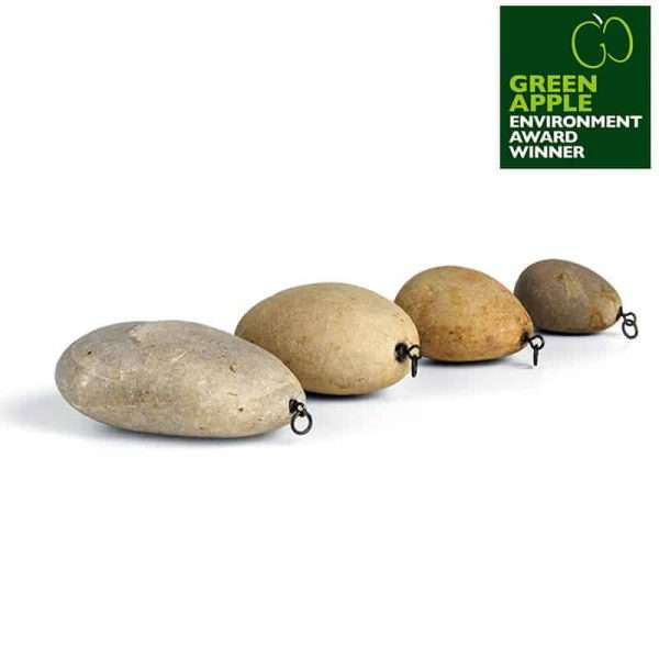 Sinkers Inline Natural Stone Fishing Weights Pallatrax Stonze Multi Pack